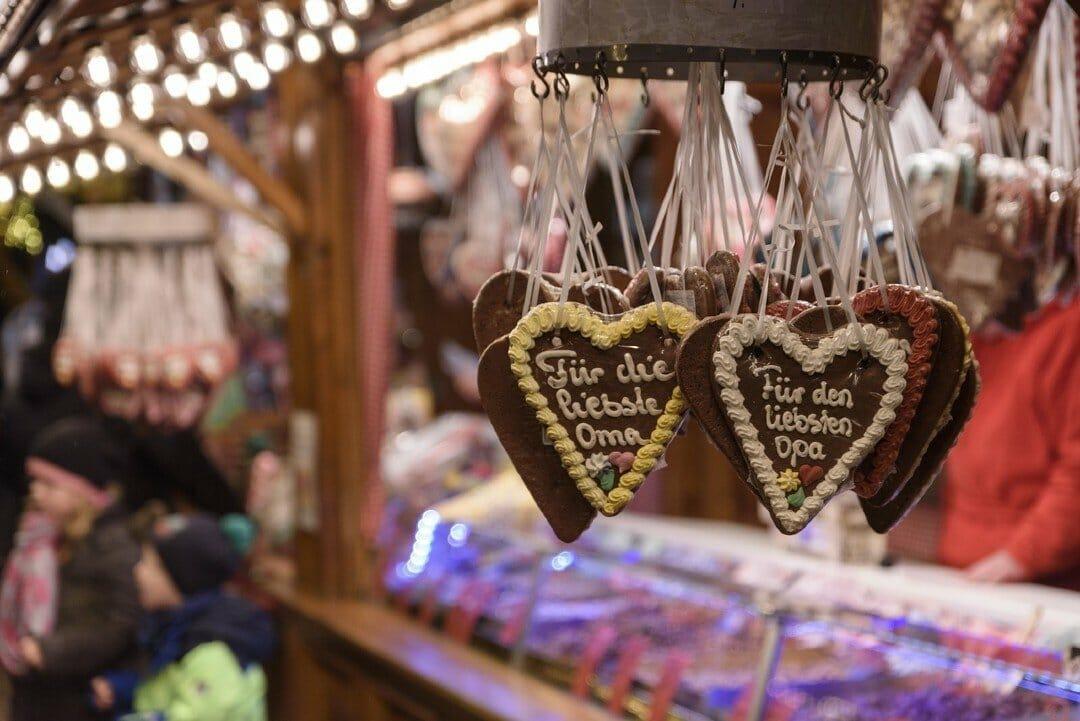 German gingerbread cookies — best Christmas cities in Europe