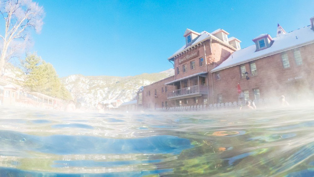 Glenwood Springs — places to visit in Colorado in the winter