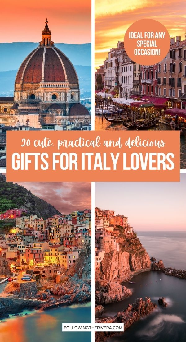 Four photos of Italy - Italian gifts for Italy lovers