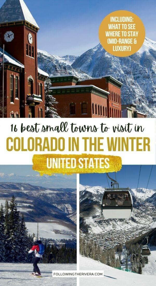 Photos of Telluride, Colorado - Places to visit in Colorado in the winter