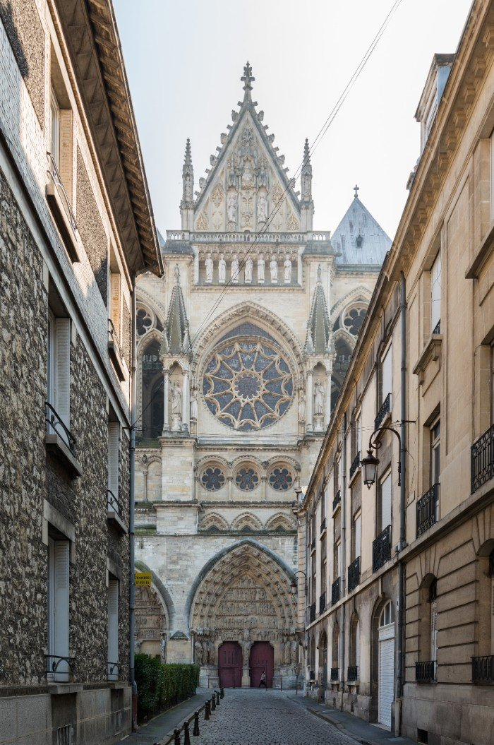 Reims Cathedral — best Christmas cities in Europe