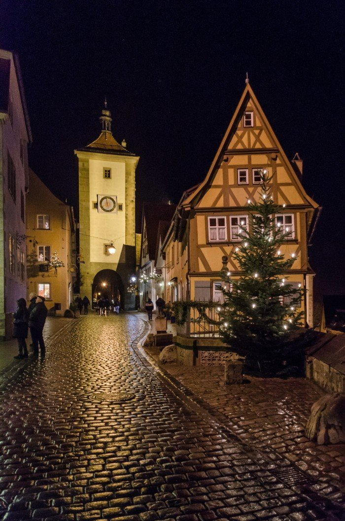 Rothenburg ob der Tauber - best Christmas cities in Europe