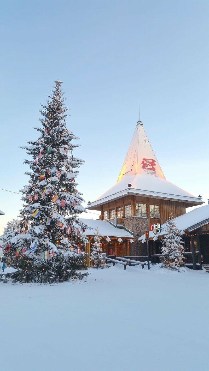 Santa Claus Christmas Village — best Christmas cities in Europe
