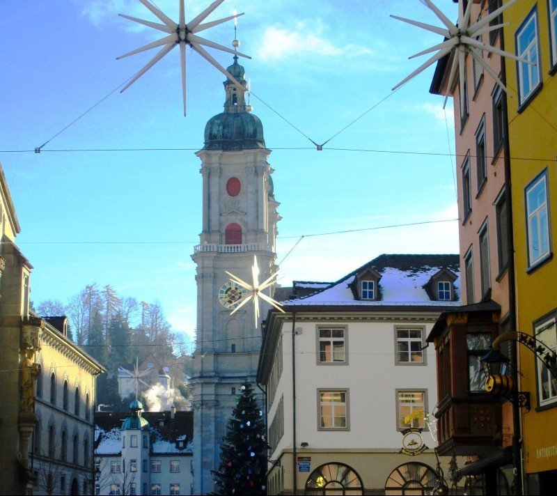 St Gallen at Christmas
