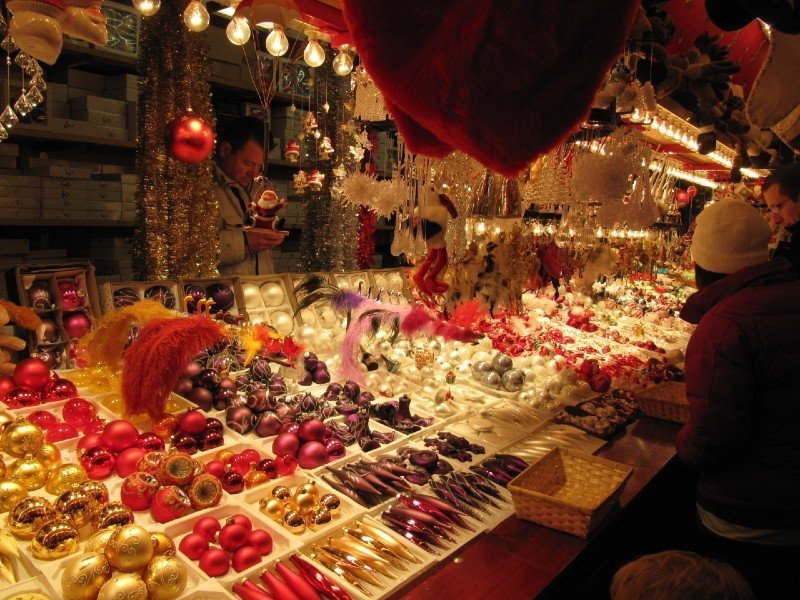 Strasbourg stall — best Christmas cities in Europe