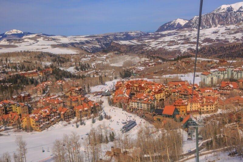 Telluride Ski Resort — places to visit in Colorado in the winter