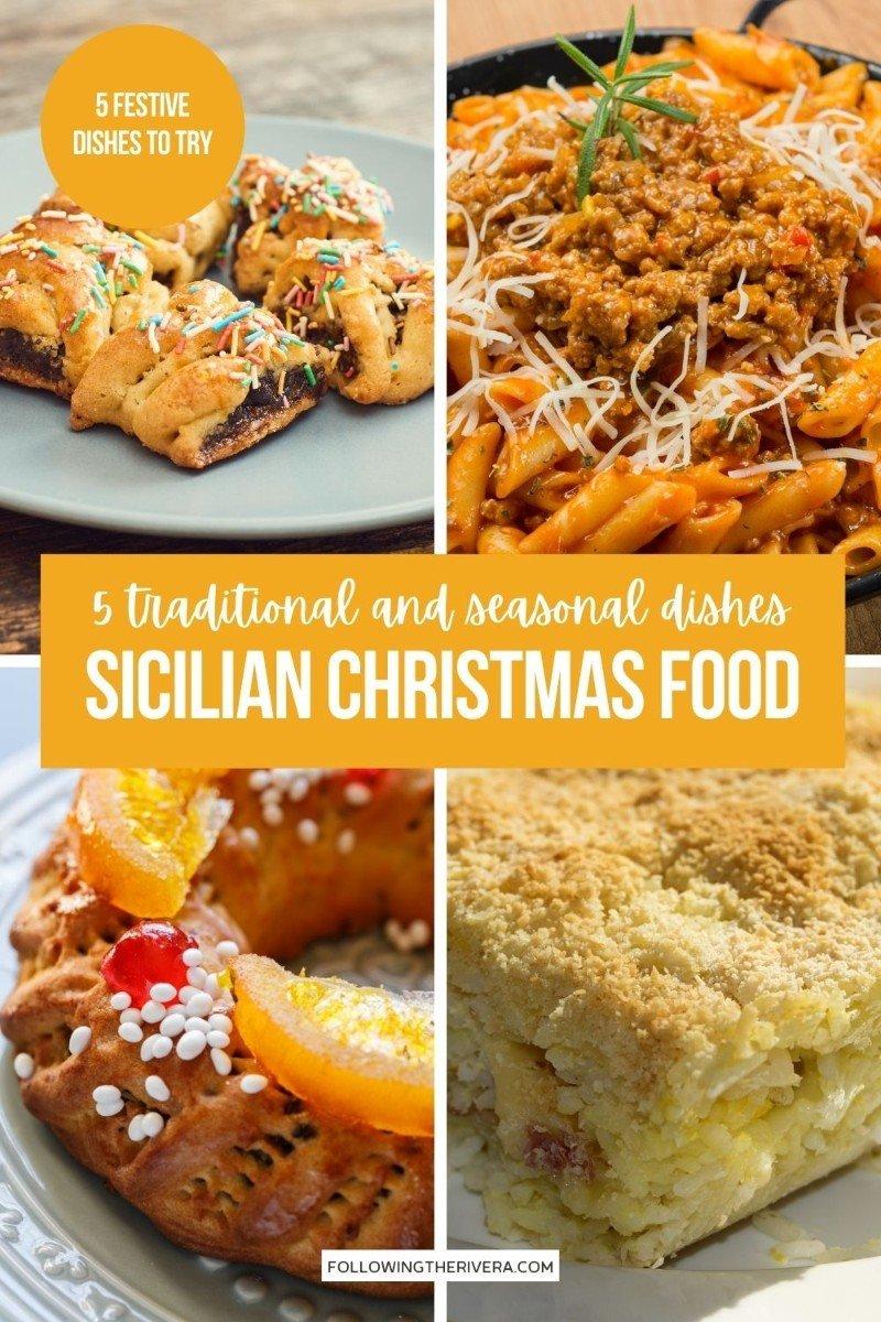 Sicilian Christmas food