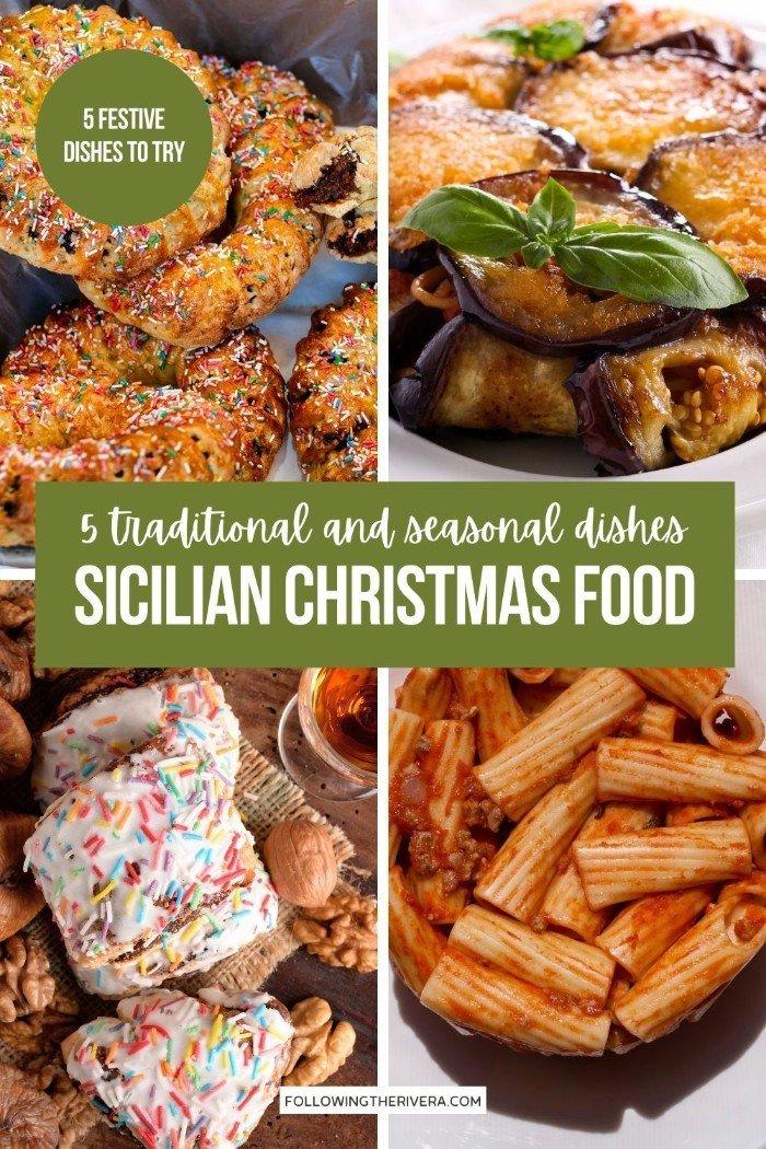Sicilian Christmas foods