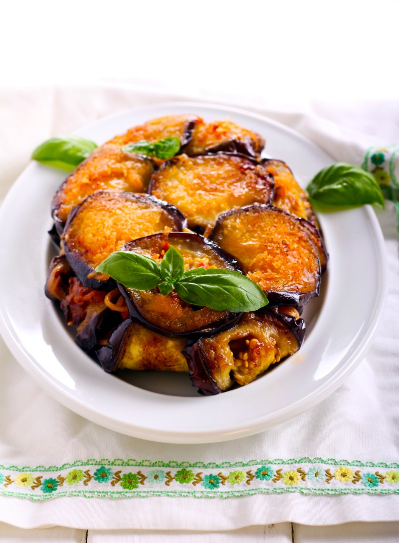 Timballo di melanzane - Sicilian Christmas food
