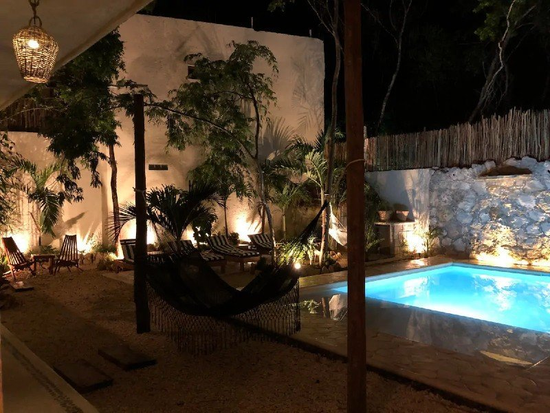 1 Hermoso Departamento - pool — where to stay in Tulum