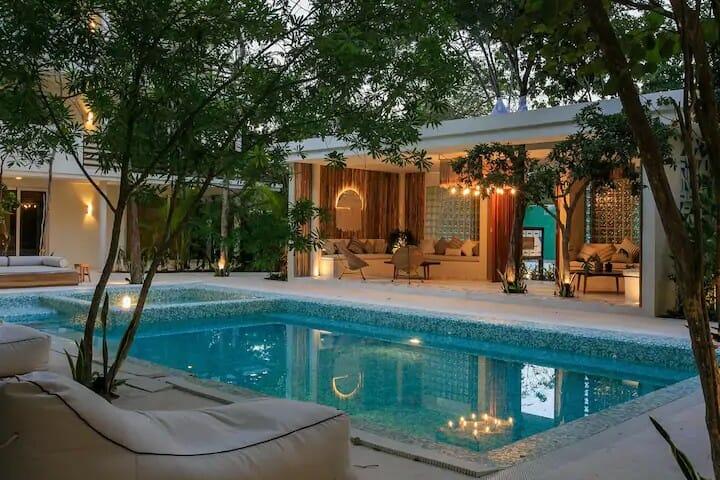 Aldea Zama - pool — where to stay in Tulum