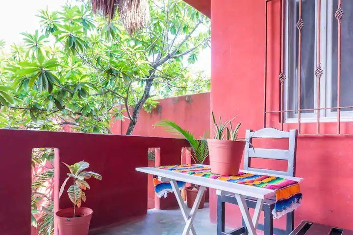 CASA CHAK outside — where to stay in Tulum