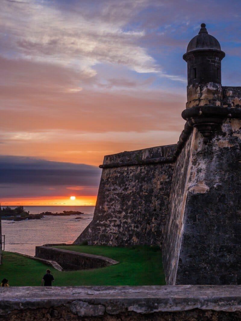 Castillo San Felipe del Morro San Juan - warm places to visit in February in USA
