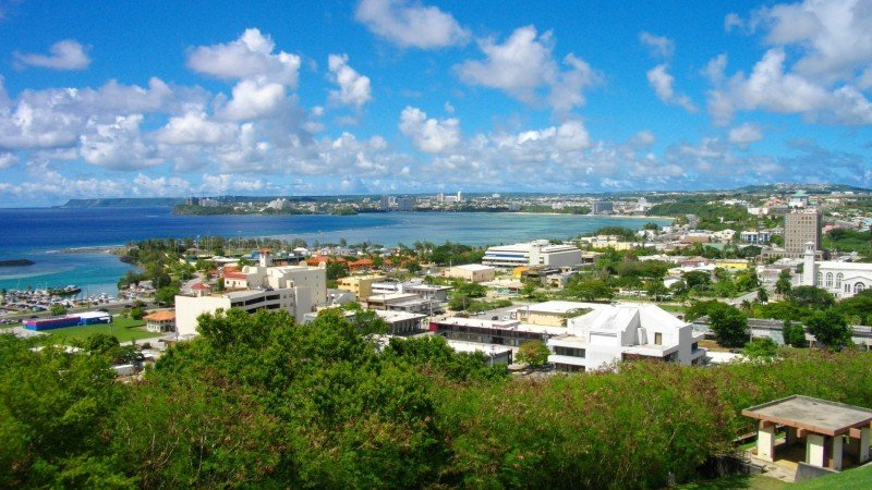 Hagåtña Guam - warm places to visit in February in USA