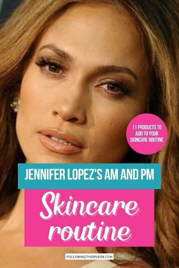 JLo - Jennifer Lopez skincare