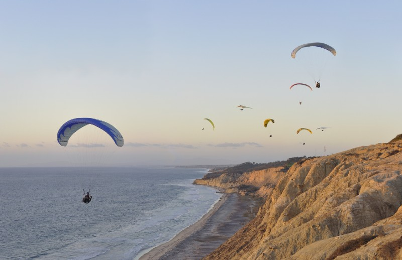 La Jolla Torrey Pines - warm places to visit in February in USA