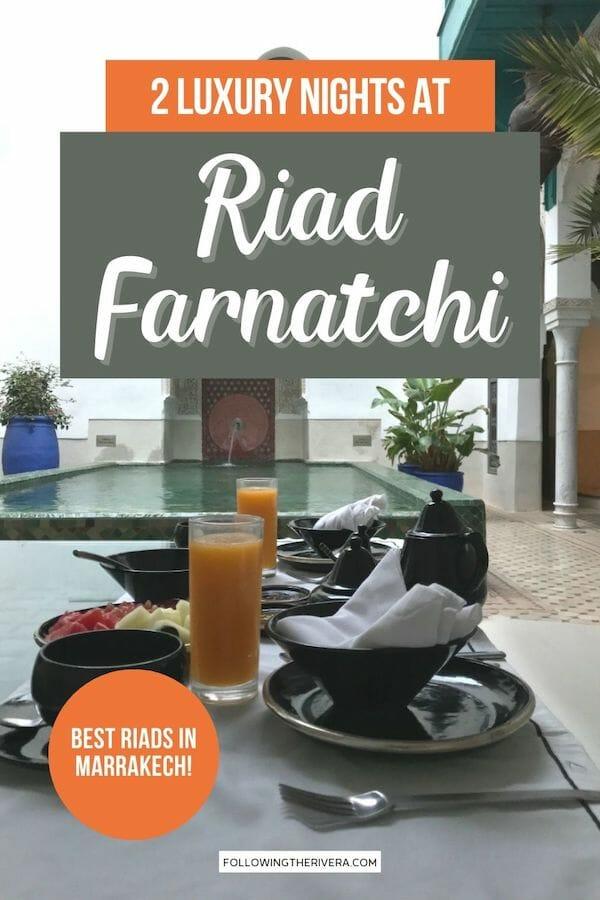 Breakfast at Riad Farnatchi