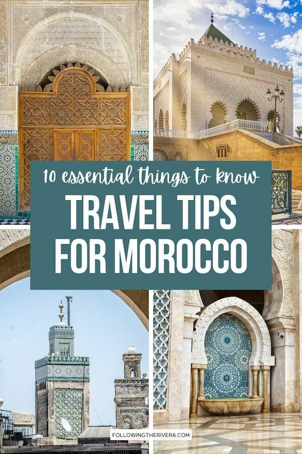 Landmarks in Casablanca - Morocco travel tips