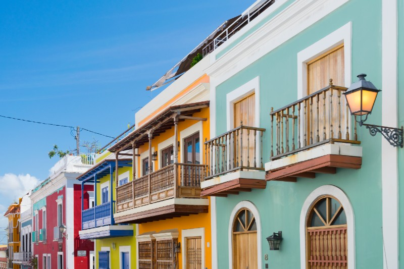 Old San Juan - warm places to visit in February in USA