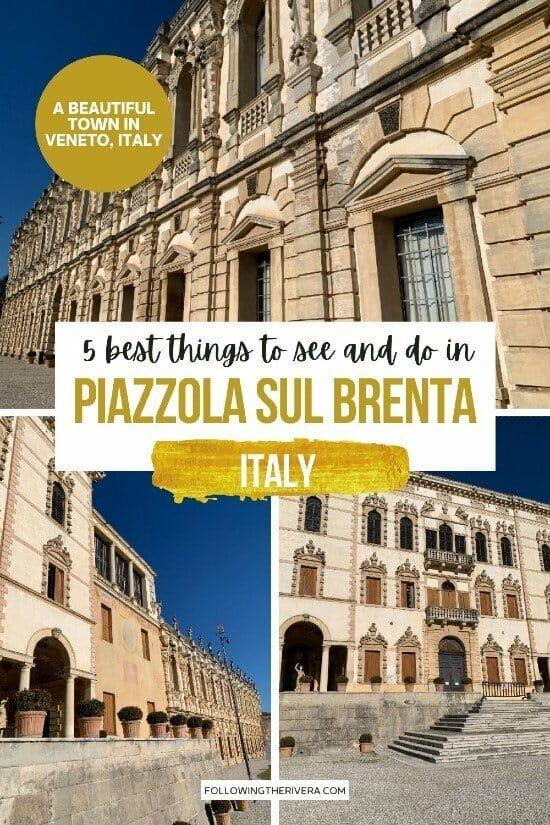 Piazzola sul Brenta - Villa Contarini