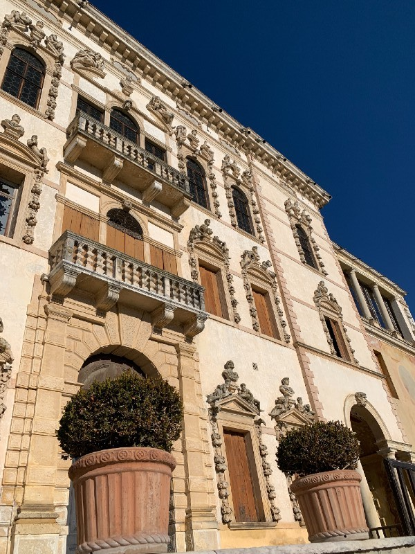 Venice canal exterior Villa Contarini - Piazzola sul Brenta