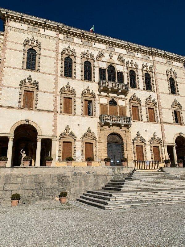 Villa Contarini facade - Piazzola sul Brenta